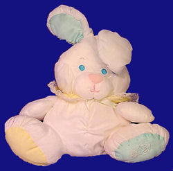 , DISCONTINUED – Hard to Find PUFFALUMP BUNNY RATTLE No. 1359 or No. 1355