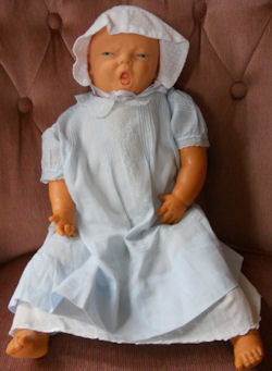 1948 Lastic Plastic Fleischaker Co. Squalling Baby