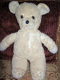 1978 DAKIN Tan & White? Bear
