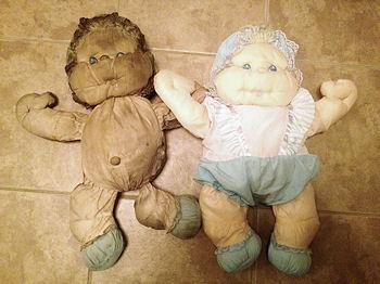 1986 Marchon Puffalump Style Doll