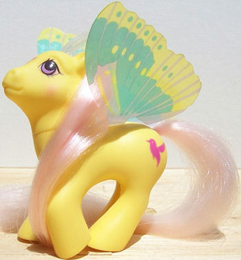 80's My Little Pony Little Flitter Winged Pony