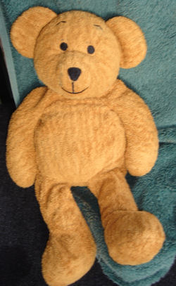 2002 Mothercare Tan Bear