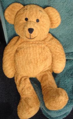 2002 Mothercare Tan Bear
