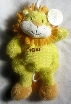 Musical 2008 Baby Adventures Lion Yellow Orange