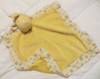 Ganz Green Frog Lovey Blanket