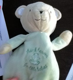 2009 Carters Thank Heaven for Little Babies Green Bear