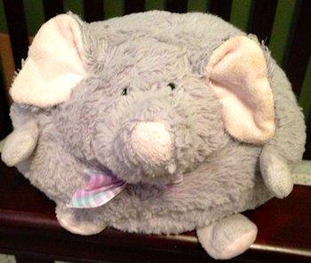 2010 Hugfun Round Gray Elephant