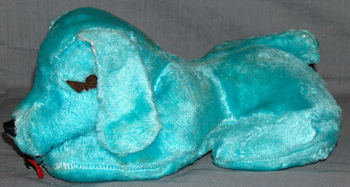 60's Small Blue Sleeping Dog