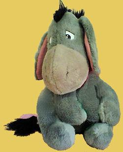 60's Eeyore Disney Donkey