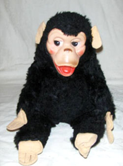 60's GUND Plush Monkey
