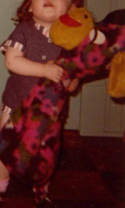 70's Sears? Multi-Colored Flower Giraffe? Donkey?