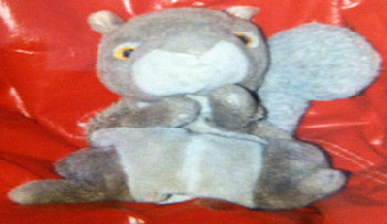 80's Full Body Brown & Tan Squirrel Puppet