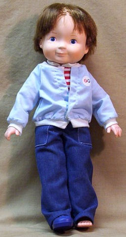Fisher Price 1982 My Friend Mikey Boy Doll
