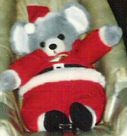 , Searching – 80's GRAY MOUSE Wearing FULL SANTA SUIT