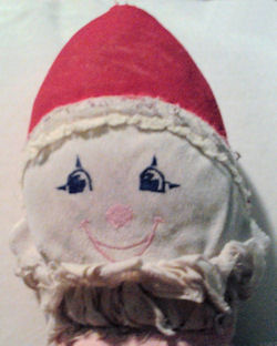 , Searching – 90's Red Pointed Hat Clown Doll
