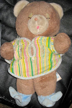 1982 AMTOY Bedtime Bear with Nightshirt & Cap