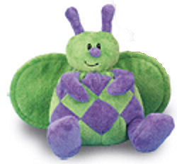 Animal Adventure Green and Purple Doodlebug