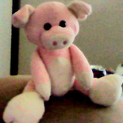 Animal Adventure Pink & White Pig