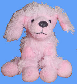 Animal Adventure Small Pink Poodle Dog