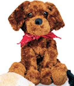 , FOUND – TARGET Circo Dog Breed CHOCOLATE LAB DOG Wearing a RED BANDANA Top Priority