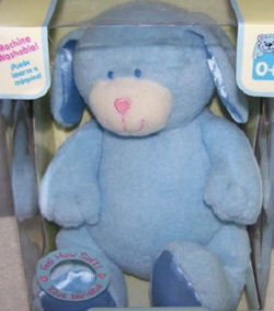 Animal Alley Baby Blue My First Floppy Animal Dog