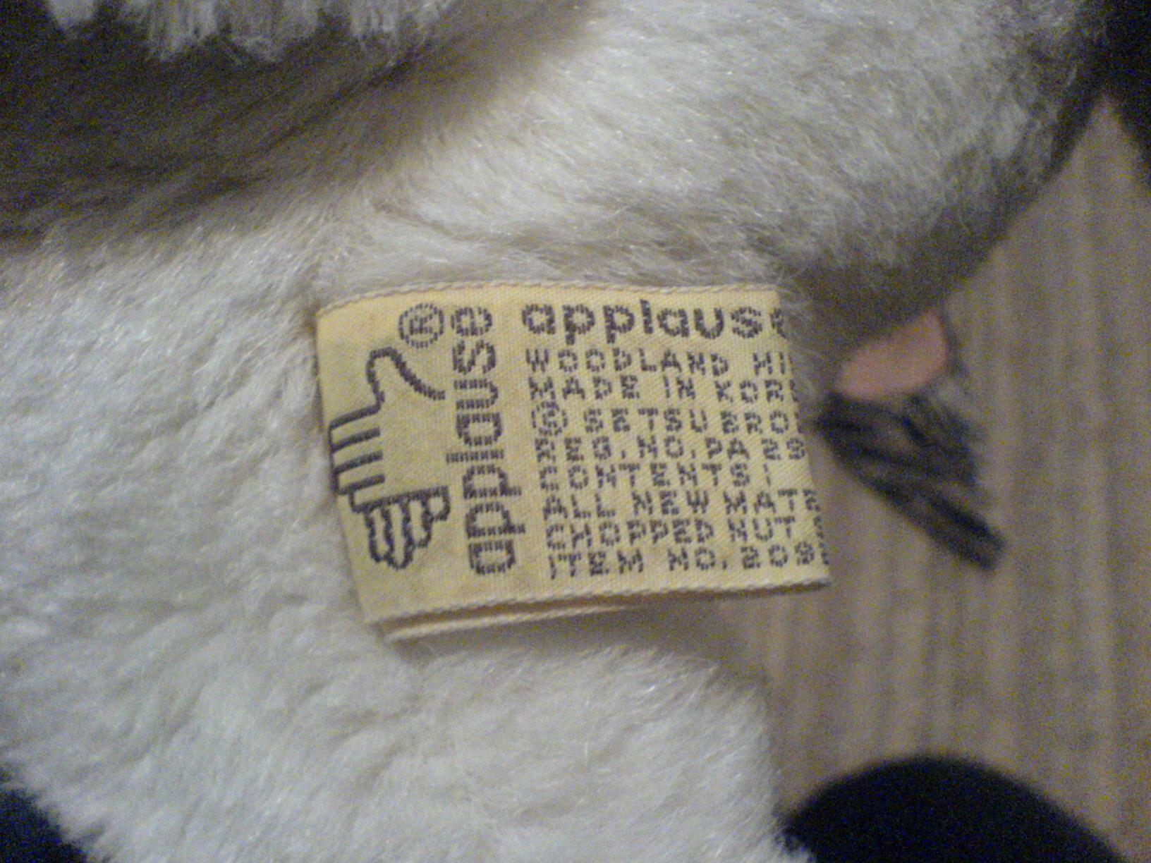 Applause Floppy Cat?
