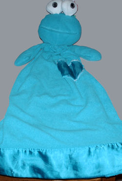 Applause Blue Cookie Monster Security Blanket