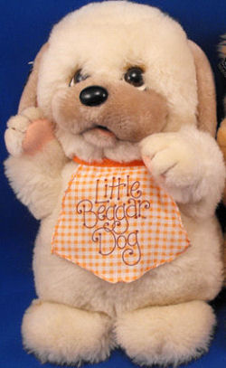 Large 1982 Applause Little Beggar Dog