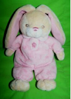 , FOUND &#8211; Aurora Baby CREAM Lop Ear RABBIT Wearing PINK FLOWER SLEEPER <i>Top Priority</i>