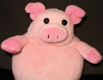 Aurora People Pals Small Pink Oinking Pig