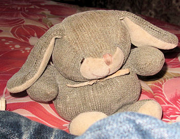 , Searching – 2002? 2003? Aurora Baby SMALL GRAY RABBIT