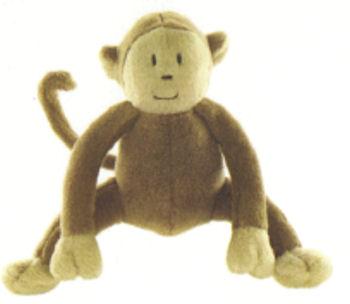 Baby GAP? Cream & Brown Monkey that Makes Monkey Sounds