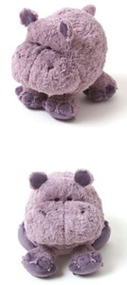 , DISCONTINUED – Babystyle SMALL HAZEL the PURPLE HIPPO