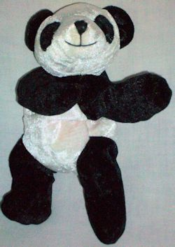 2002? Bambeanos Blaze Panda Bear Beanie Baby