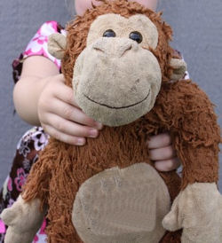 Best Made Toys Shaggy Brown Monkey with Tan Face, Tummy, Hands & Feet