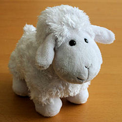 Best Made Toys? Big Head White Lamb