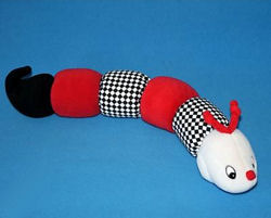 , FOUND – GUND Tinkle, Crinkle, Rattle and Squeak in BLACK – RED – WHITE Top Priority