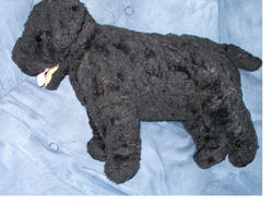 Large Black TY #2008 Cinders Dog