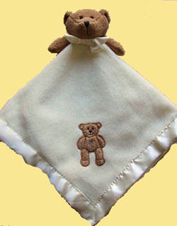 Blankets and Beyond Brown Bear Security Blanket