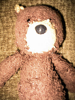 Boyds Dark Brown Floppy Rough Texture Bear