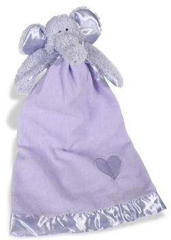 2007 Boyds Lavender Ellynaps Elephant Blankie