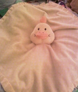 Breathe Easy Yellow Duck Blankie