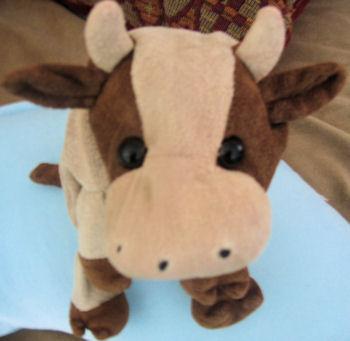 Small Brown & Cream Cow