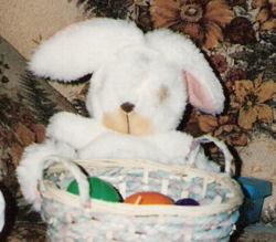 90's white bunny