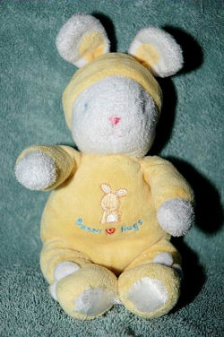 Carter's Yellow Bunny Hugs Rabbit