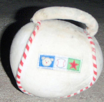 Carter's Just <br />One Year Baseball Rattle