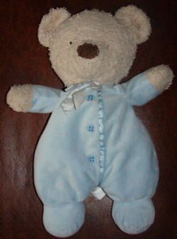 Carter's Blue Bear with Tan Face and Hands