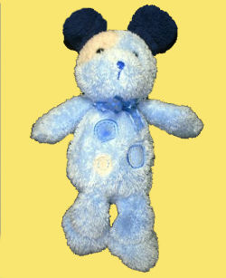 Carter's Blue & Yellow Spots Dog
