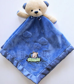 Carter's Car City Bear Blankie