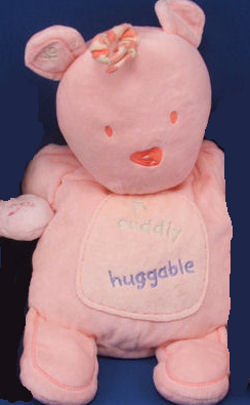 Carter's Pink Cuddly Huggable Bear
